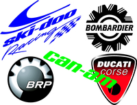 Motorcycle Decals and Stickers