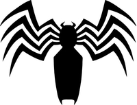 Venom Spider Decal / Sticker 01