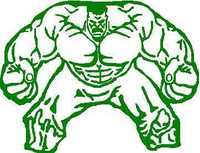 Hulk Decal / Sticker