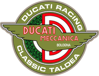 Ducati Racing Classic Taldea Decal / Sticker 31