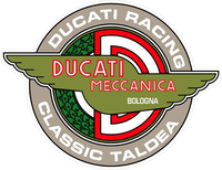 Ducati Racing Classic Taldea Decal / Sticker 32