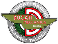 Ducati Racing Classic Taldea Decal / Sticker 57