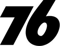 Union 76 Decal / Sticker g