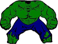 Hulk Decal / Sticker 05
