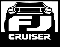 Toyota FJ Cruiser Decal / Sticker 06
