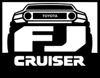 Toyota FJ Cruiser Decal / Sticker 07
