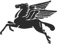 Pegasus Decal / Sticker 03