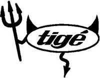 Tige Devil Decal / Sticker