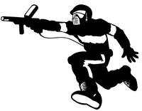 Paintball Decal / Sticker