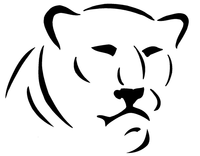 Cougars / Panthers Mascot Decal / Sticker 5