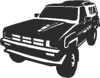 Truck Decal / Sticker 04