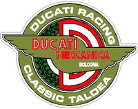Ducati Racing Classic Taldea Decal / Sticker