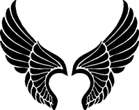Angel Wings Decal / Sticker
