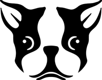 Boston Terrier Decal / Sticker 02