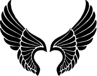 CUSTOM WINGS DECALS and WINGS STICKERS