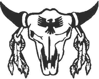 Bull Skull 04 Decal / Sticker
