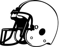 Football Helmet Decal / Sticker