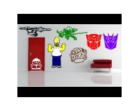 CUSTOM COMIC and CARTOON WALL DECALS and COMICA AND CARTOON WALL STICKERS