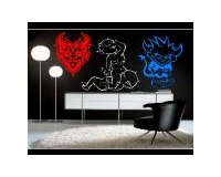 DEVIL WALL DECALS and DEVIL WALL STICKERS