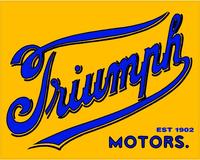 Triumph 1902 Decal / Sticker