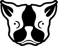 Boston Terrier Decal / Sticker 01