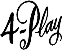 4-play Lettering Decal / Sticker