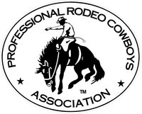 Professional Rodeo Cowboys Association PRCA Decal / Sticker 02