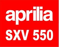 Aprilia SXV 550 Decal / Sticker 18