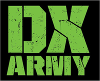 DX Army Decal / Sticker 01