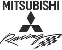 Mitsubishi Racing Decal / Sticker 02