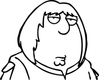 Family Guy Chris Griffin Decal / Sticker 02