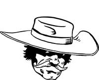 Cavaliers Mascot Decal / Sticker 05
