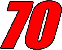 CUSTOM NASCAR DECALS and NASCAR STICKERS Numbers 70-79