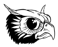 Owls Mascot Decal / Sticker 5