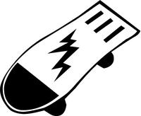 Skateboard Decal / Sticker 01