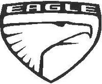 Eagle Logo Decal / Sticker