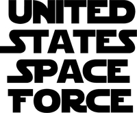 United States Space Force Decal / Sticker 05