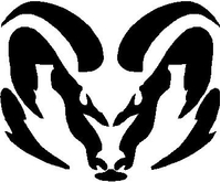 Ram Decal / Sticker 09