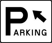 Parking Decal / Sticker 02