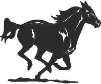 Horse Decal / Sticker 13