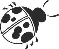 Ladybug Decal / Sticker 01