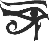 Eye of Ra Decal / Sticker 01