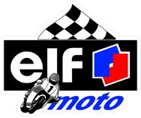Elf Oil Moto Decal / Sticker 09