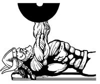 Weightlifting Vikings Mascot Decal / Sticker 3