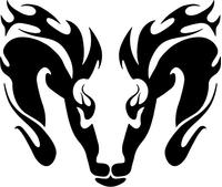 Ram Decal / Sticker 27