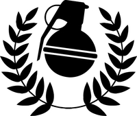Grenade Gloves Decal / Sticker 02