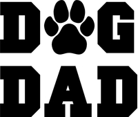 Dog Dad Decal / Sticker 02