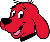 Clifford Big Red Dog Decal / Sticker 01