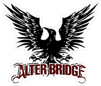 Alter Bridge Decal / Sticker 02