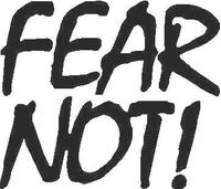 Fear Not Decal / Sticker